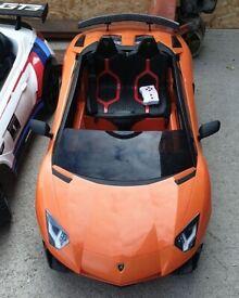 Lamborghini Aventador 12V Powered Vehicle No210608