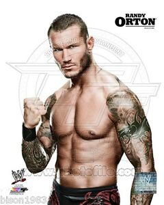 Randy Orton WWE Legend Viper 8x10 photo promo brand New