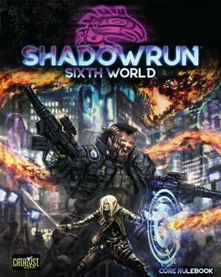 Shadowrun 6th Edition Core Rulebook NEW