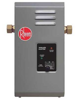 Rheem 3000W Commercial Electric Tankless Water Heater, 120VAC, RTE3