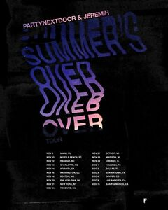 One ticket to Partynextdoor and jermih summers over tour Kitchener / Waterloo Kitchener Area image 1
