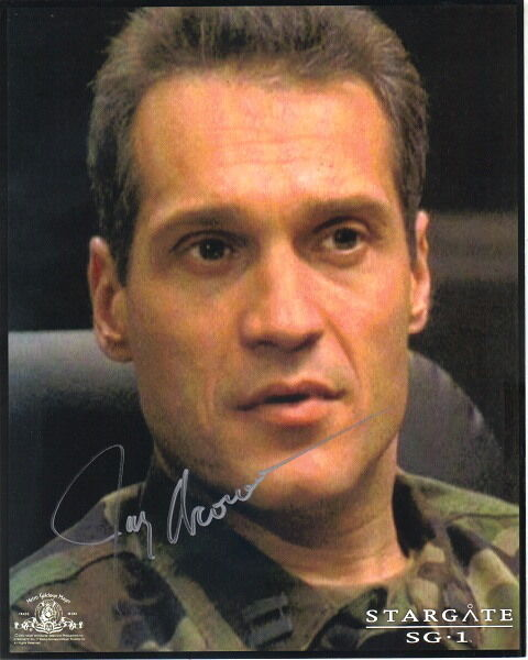 Jay Acovone as Major Kawalsky on Stargate SG-1 Autographed Picture #1