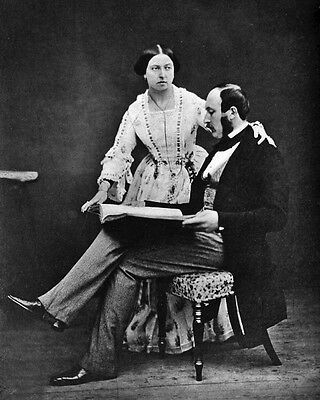 New 8x10 Photo: Prince Albert and Queen Victoria, Monarch of the United Kingdom