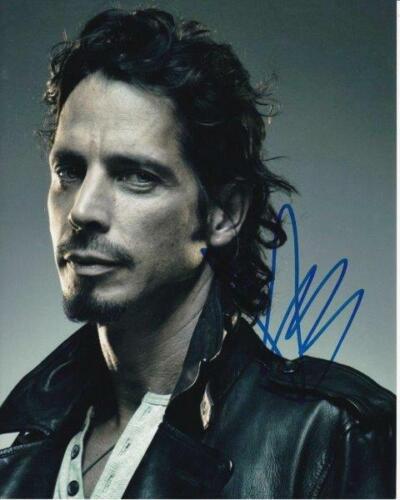 REPRINT - CHRIS CORNELL Soundgarden Rare Signed  8 x 10 Glossy Photo Poster RP