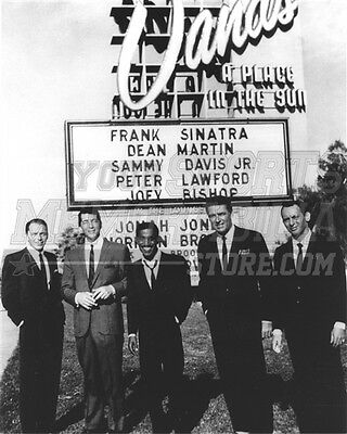 The Rat Pack Sinatra Martin Davis Lawford Bishop  8x10 11x14 16x20 photo 833