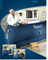 Vitaeris 320 mild hyperbaric oxygen chamber with Concentrator