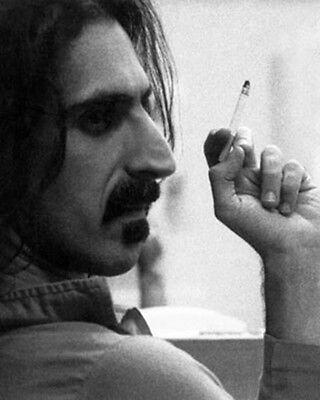 FRANK ZAPPA PHOTOGRAPH 1970s Backstage Cigarette Rare