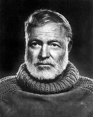 Ernest Hemingway 10x8 Photo