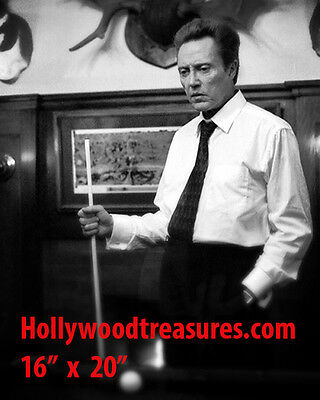 "Christopher Walken~Playing Pool~#2~Billiards~Shooting Pool~16"" x 20"" Photo"