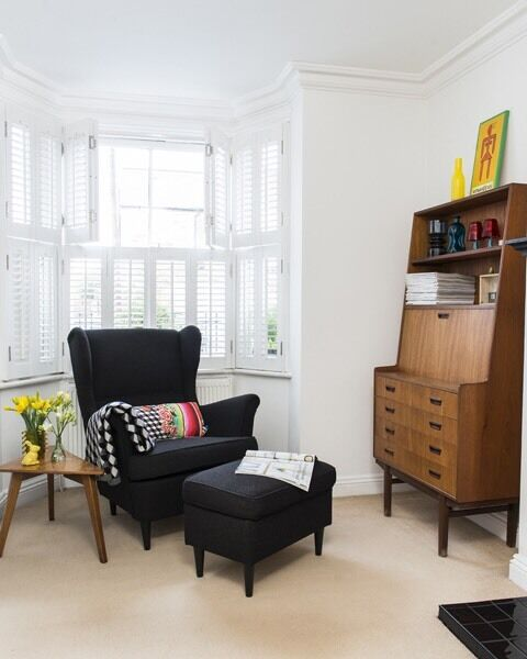 Black armchair for Sale