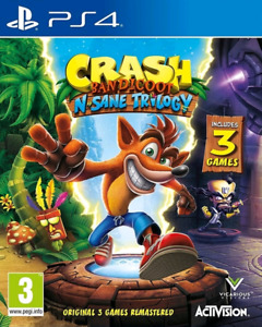 Crash N. Sane Trilogy PS4 $30