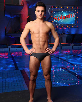 TOM DALEY UNSIGNED PHOTO - 282 - SPLASH!!!