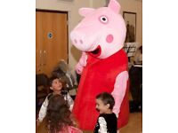 PEPPA GEORGE PIG CHILDRENS PARTY MASCOT HIRE South East North West London Near Me Meet Greet Theme