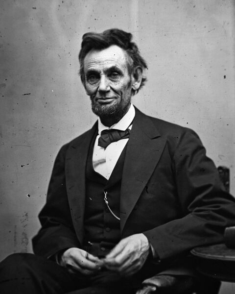New 8x10 Photo: Last Portrait of President Abraham Lincoln, February of 1865