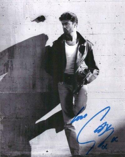 REPRINT - GEORGE MICHAEL Wham Signed 8 x 10 Glossy Photo Poster RP Man Cave