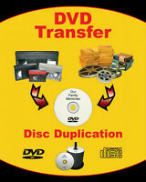 Video to DVD transfers