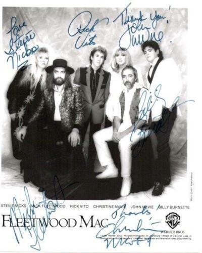 REPRINT - FLEETWOOD MAC Stevie Nicks Autographed Signed 8 x 10 Photo Poster