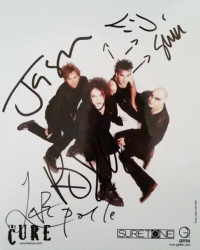 REPRINT - THE CURE Robert Smith Band Autographed Signed 8 x 10 Photo Poster RP