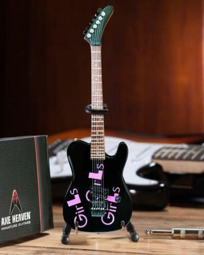 Motley Crue * Mick Mars Girls Girls Girls Guitar * Miniature Replica Licensed