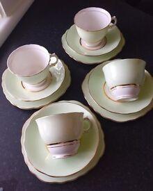 Vintage Cloclough tea set