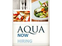 Chef de parties for Aqua Portishead