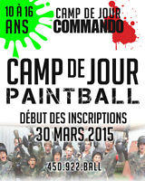Camp de Jour Paintball Commando