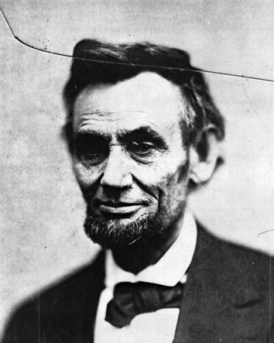 New 8x10 Photo: President Abraham Lincoln on February 5, 1865