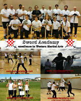 Learn Martial Arts at Sword Academy (SwordAcademy.com)