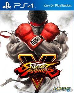 Street Fighter V (SFV) for PS4 Like New