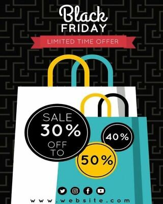 Black Friday Limited Time Offer: Shopping Schedule, Cyber Monday, Gift List...
