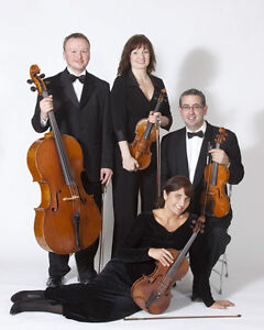 MUSIC - WEDDING CEREMONIES RECEPTIONS (CLASSICAL STRING QUARTET)