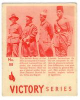 Carte Victory #88 de la 2e guère mondial / WW2 / militaire