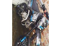 Z155 welsh pit bike