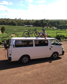 Perth to Margaret River offered