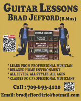 Lessons with Brad Jefford - Guitar/Bass/Mandolin/Ukelele/Theory