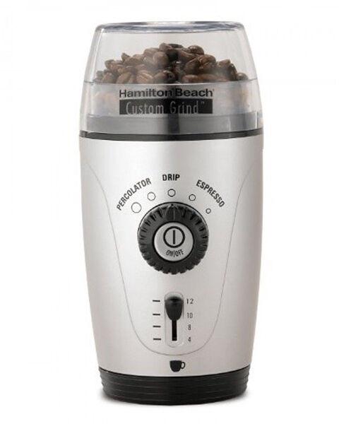 %name Hamilton Beach Custom Grind Hands Free Coffee Grinder