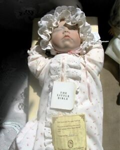 "12"" LEE MIDDLETON ""SWEETEST LITTLE DREAMER' BABY DOLL,BOX"