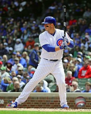 - ANTHONY RIZZO Chicago Cubs Photo File 8x10 Photo