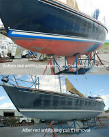 PROFESSIONAL MARINE ANTIFOULING REMOVAL