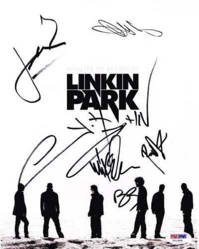 REPRINT - LINKIN PARK Chester Bennington Signed  8 x 10 Glossy Photo Poster RP