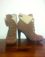 BCBG and Michael Kors booties, Size 8