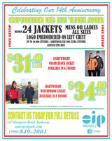 Spring Jacket / T-Shirt / Hoodie Event!!!