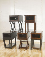 New Chairside End Tables