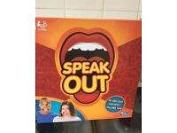 Brand New And Unopened Speak Out Game