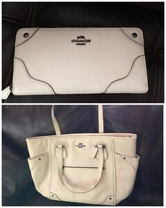 Brand New Coach Micke tote large&Mickie wallet(reduced$290 both)