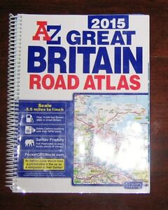 2015 British A-Z Road map