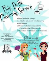 Housekeepers available!!!!