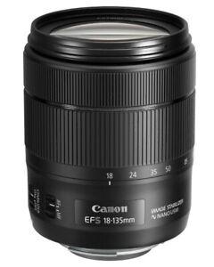 Lentille Zoom Polyvalent Canon EFS 18-135mm USM IS Nano