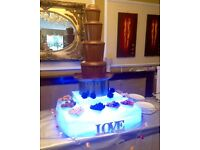 WEDDING EVENT PACKAGES photo booth , sweet cart , chocolate fountain , candy floss , slush , popcorn