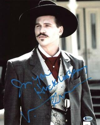 REPRINT - VAL KILMER Tombstone Autographed Signed 8 x 10 Photo Poster RP